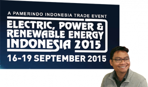 Tekron Exhibits at Electric Indonesia 2015